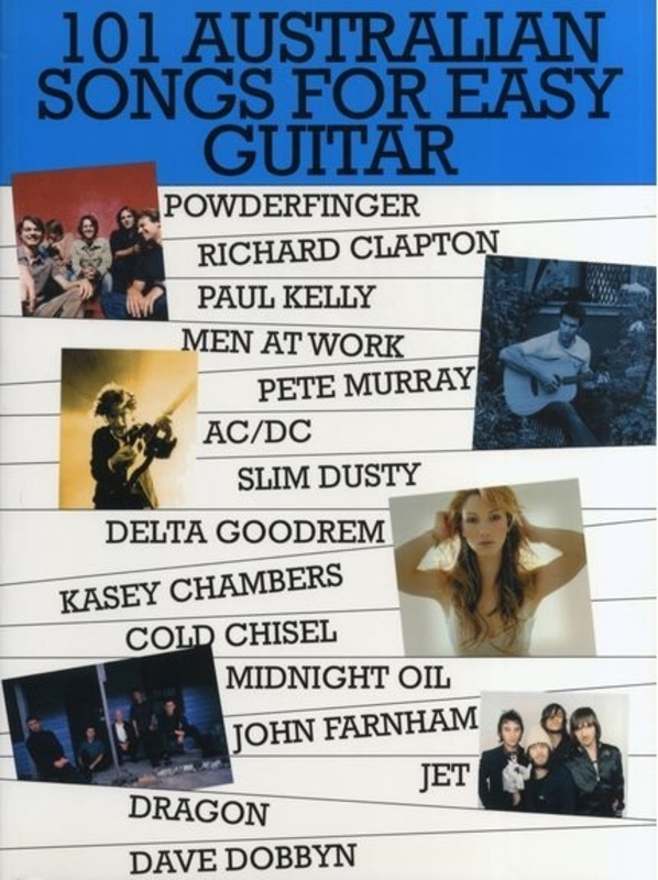 101 Australian Songs Easy Guitar Book 1 *NEW* Lyrics & Chords Sheet ...