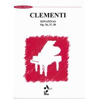 CLEMENTI - SONATINAS OP 36 37 38