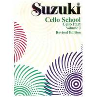 Suzuki Cello School Volume 3 Cello Part Revised Edition