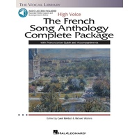 French Song Anthology Complete Package High Bk/Ola