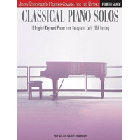 Classical Piano Solos Fourth Grade