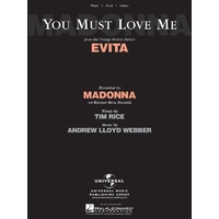 You Must Love Me (From Evita) Pvg S/S