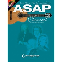 Asap Classical Guitar Bk/Cd Gtr