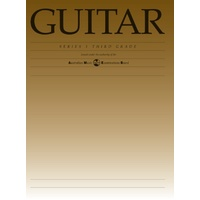 Classical Guitar Grade 3 Series 1 Ameb