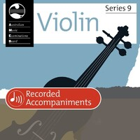 Violin Grade 2 Series 9 Recorded Accomp Cd