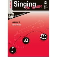 Singing For Leisure Bk/Cd Grade 1 Low Series 1