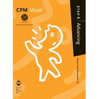 Cpm Vocal Advancing Step 4 Bk/Cd Ameb