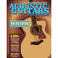 Blue Book Of Acoustic Guitars 15Th Edition