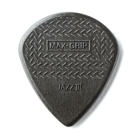 Max Grip Jazz III Black Nylon Guitar Pick
