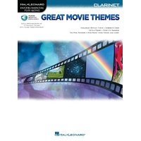 GREAT MOVIE THEMES CLARINET BK/OLA