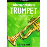 Abracadabra Trumpet Book *New* Alan Tomlinson Sheet Music Tuition Beginner