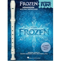 FROZEN RECORDER FUN! BK/RECORDER PACK