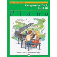Alfred'S Basic Piano Library Course: Composition Book Level 1B *New*