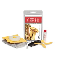 Alfred's Care Kit Complete For Tenor Saxophone *NEW* Inc. Swabs, Brush & Grease