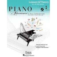 Piano Adventures All In Two 3 Lesson Theory Bk/Cd
