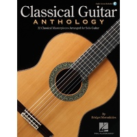 Classical Guitar Anthology Bk/Ola