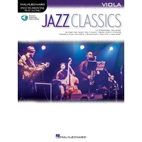 Jazz Classics For Viola Bk/Ola