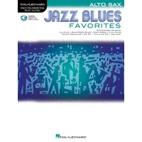 Jazz Blues Favorites For Alto Sax Bk/Ola