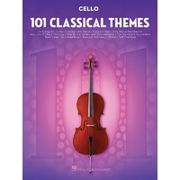 101 CLASSICAL THEMES FOR CELLO