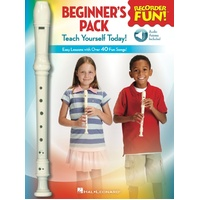 Recorder Fun! Beginners Pack Bk/Ola/Recorder