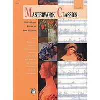 Masterwork Classics, Level 7 Piano Solo Book & Cd *New* Ed. Jane Magrath, Music