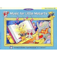 Music For Little Mozart's Piano Workbook Book 3 *NEW* Beginners Tuition Children