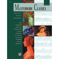 Masterwork Classics, Level 10 Piano Solo Book & Cd *New* Ed. Jane Magrath, Music