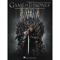 Game Of Thrones Piano Solo Songbook