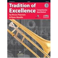 TRADITION OF EXCELLENCE BK 1 TROMBONE TC BK/DVD