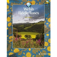 WELSH FIDDLE TUNES VIOLIN BK/CD