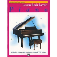 Alfred'S Basic Piano Library Course: Lesson Book, Level 4 / Four *New* Music