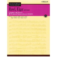 Ravel Elgar & More Cd Rom Lib Cello V7