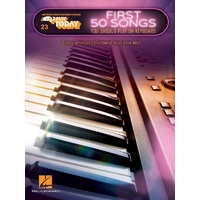Ez Play #23 First 50 Songs You Should Play On The Keyboard Book *New* Music