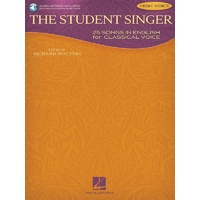 The Student Singer Bk/Cd High Voice