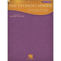 The Student Singer Bk/Cd Low Voice