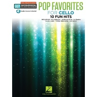 POP FAVORITES FOR CELLO BK/OLA
