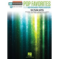 Pop Favorites For Keyboard Percussion Bk/Ola
