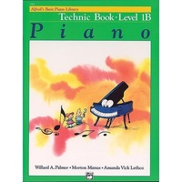 Alfred'S Basic Piano Library Technic, Bk 1B By Willard Palmer, Amanda Lethco, Mo