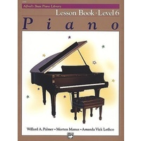 Alfred'S Basic Piano Library Course: Lesson Book, Level 6 / Six *New* Music