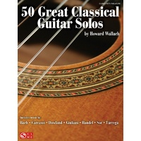 50 Great Classical Guitar Solos W/Tab
