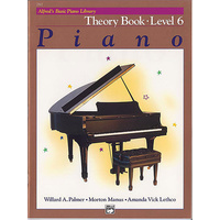 Alfred'S Basic Piano Library Course: Theory Book, Level 6 / Six *New* Music