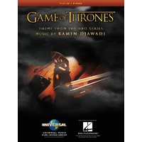 Game Of Thrones For Violin/Piano