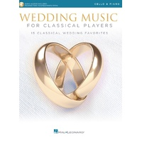 Wedding Music Classical Players Cello/Piano Bk/Ola