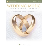 Wedding Music Classical Players Flute/Piano Bk/Ola