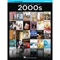 SONGS OF THE 2000S NEW DECADE SERIES EASY PIANO