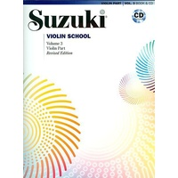 Suzuki Violin School Volume 3 Violin Part Book & CD *NEW* Revised Edition, Music