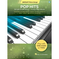 Pop Hits Instant Piano Songs Bk/Ola