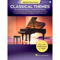 Classical Themes Instant Piano Songs Bk/Ola
