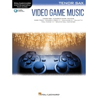 Video Game Music For Tenor Sax Bk/Ola