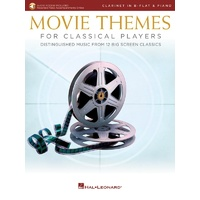 Movie Themes For Classical Players Clarinet/Piano Bk/Ola